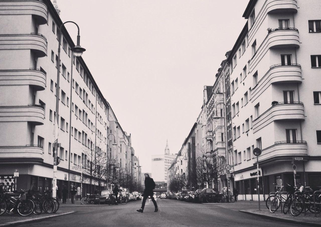 VIEW OF CITY STREET