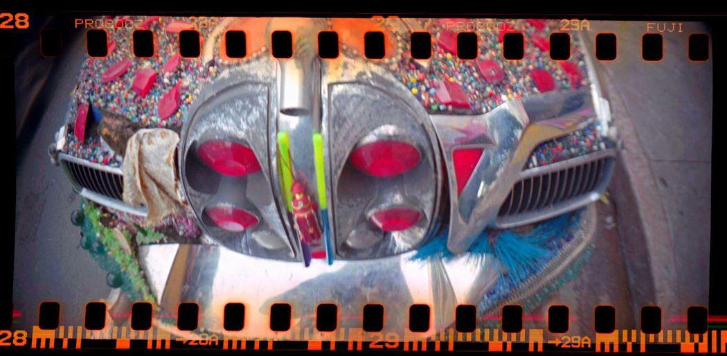 Lomo800 Koduckgirl Artcar Film Sprocket Holes Sprocket Rocket Panorama