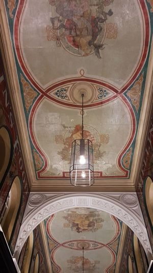 Ceiling Hamburg Arch Symmetry Ceiling Fresco Ornate Pattern Architecture Mosaic Architecture And Art Mural