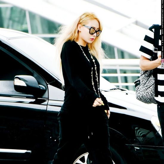 Chaelin Lee Chaerin Airport Korea Kpop My Edit Seoul, Korea Koreanfashion In Korea 2NE1