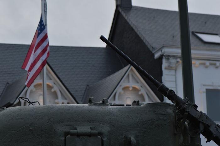 American Flag Christmastime Close-up EyeEm EyeEm Best Shots EyeEm Gallery Flag Gun Military No People Outdoors Patriotism Popular Photos