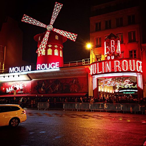 I love Paris! And I love moulin rouge! Paris Moulin Rouge All The Neon Lights