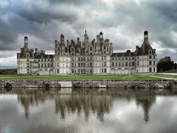 Chambord Chateau De Chambord Castel France Photooftheday Picoftheday Nikon Nikonphotography Architecture