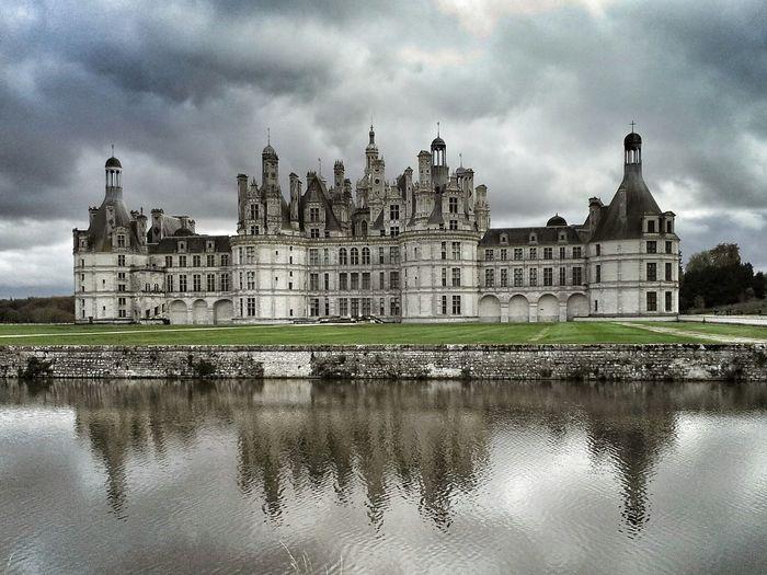 Chambord Chateau De Chambord Castel France Photooftheday Picoftheday Nikon Nikonphotography Architecture