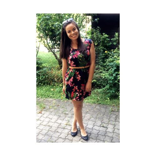 50 Shades of Asian  😛💁🏽 Summer Flowers Dress Ootd ✌ Canada Toronto Vienna Austria Philippines