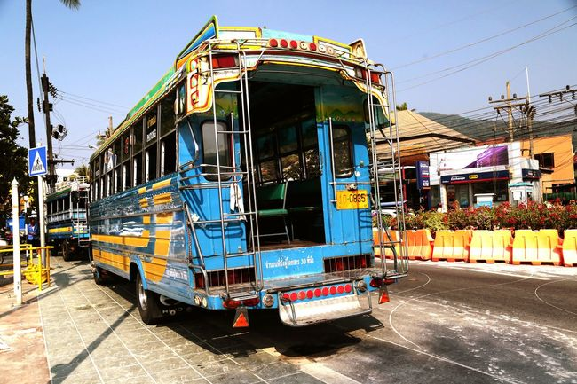 Thailand Phuket Bus Otobus Service Colors Renkler Open Edit EyeEm Gallery Photography