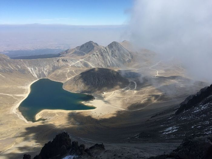 Trailrunner Trailrunning Mountain Nature Beauty In Nature Physical Geography Geology Volcano Smoke - Physical Structure Volcanic Crater Landscape