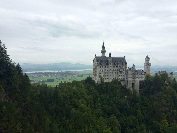 Schloss Neuschwanstein Germany Castle Romantic Bavaria