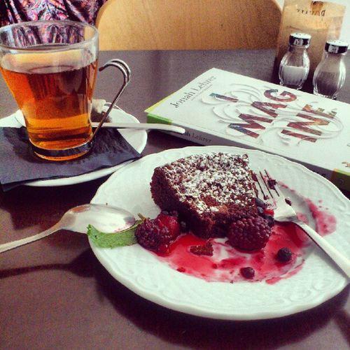 Tea time! Tea Chocolatcake
