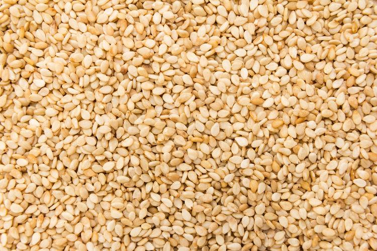 Full frame shot of sesame seeds