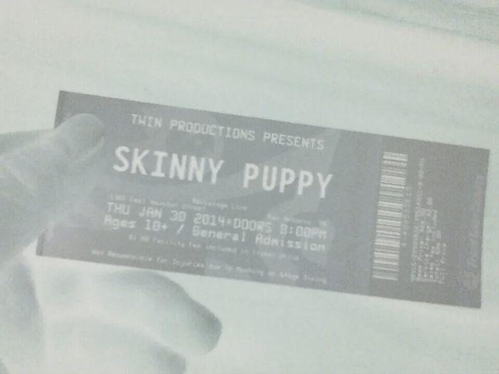 Skinny Puppy Goth Hipster