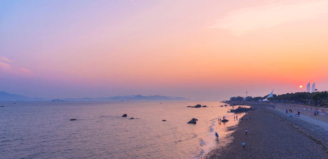 Beach Sea Sunset