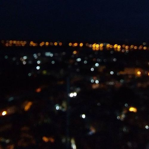 Blurred View from Rockfort Trichy