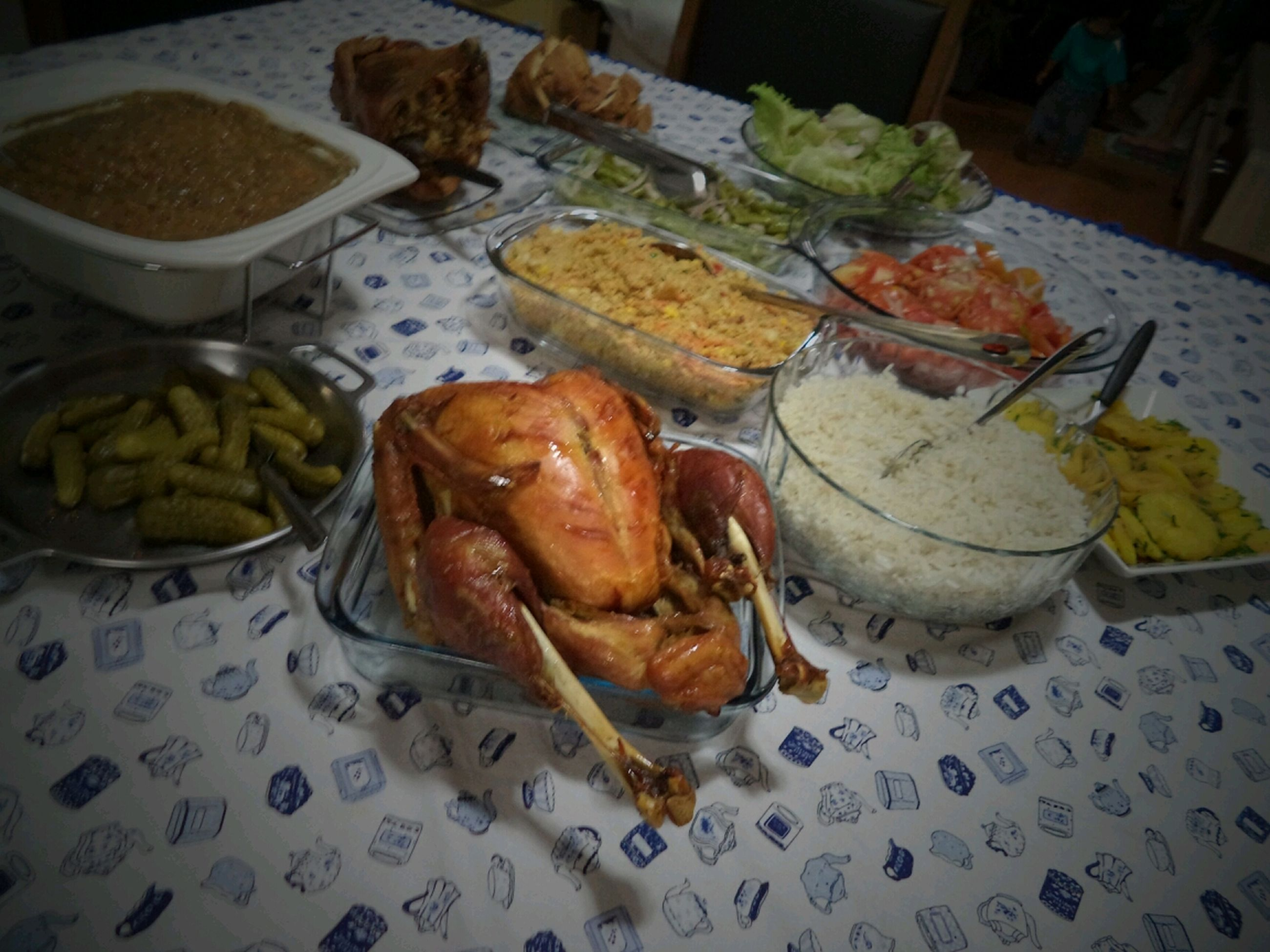 food and drink, food, freshness, ready-to-eat, indoors, plate, still life, healthy eating, table, meat, meal, serving size, high angle view, seafood, close-up, indulgence, served, fish, no people, vegetable