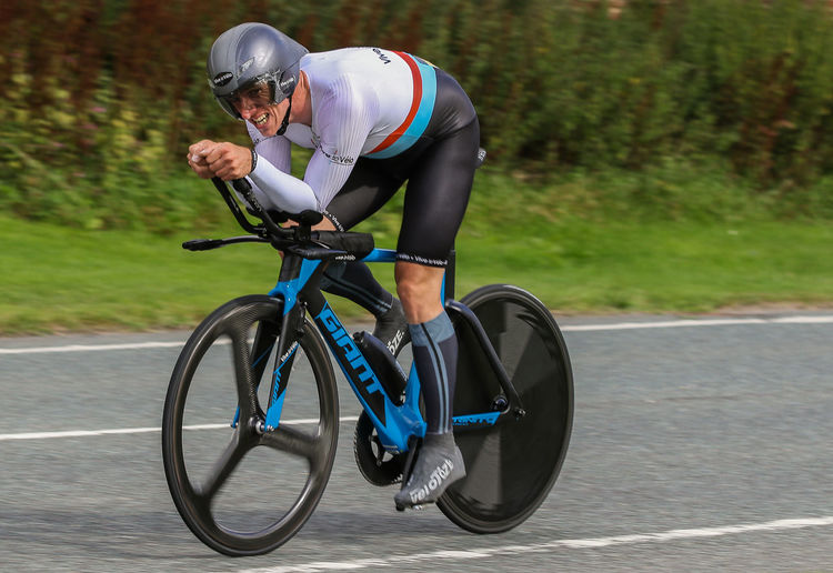 Adam Duggleby current (2017) BBAR champion, UK. Adam Duggleby 2017 BBAR Champion Bicycle Paralympian Riding Road Sport Time Trialling