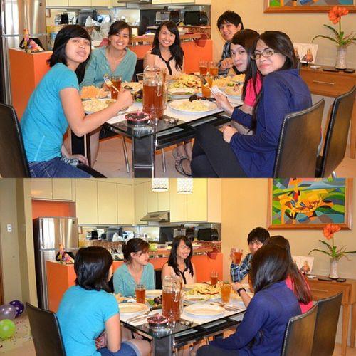 Dinner Overflowingfood Surpriseforbeb Kulitan