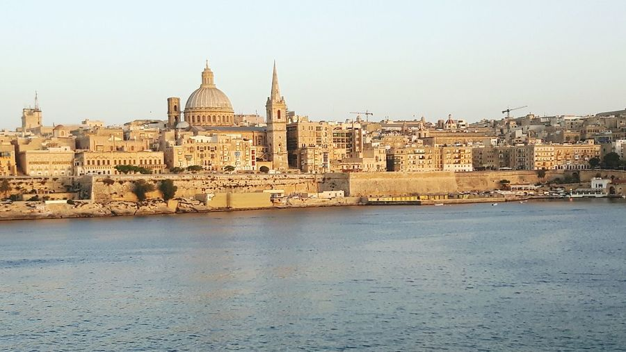 Travel Destinations Architecture Sky Dome Politics And Government City Outdoors Built Structure No People History Building Exterior Business Finance And Industry Cityscape Day Water Cultures Malta Valletta European Capital Of Culture 2018 Valletta, Grand Harbour EyeEmNewHere
