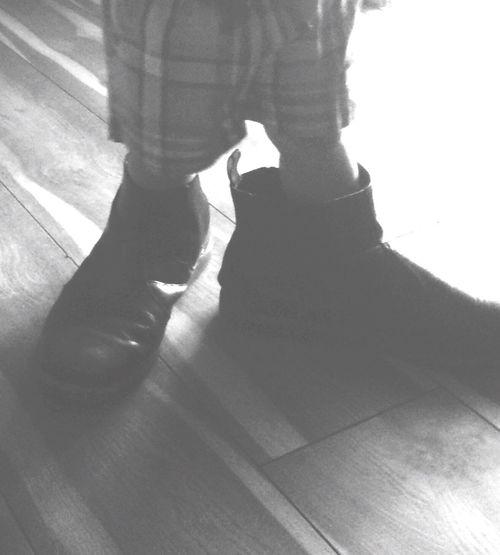 Big Shoes Baby Show Baby ❤ Big Girl