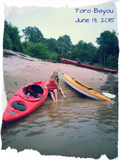 My Boys ♥ Enjoying Life Witth The Fammily Kayaking