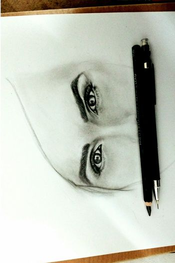 Beautiful Eyes Emmawatson Emma Art Portrait Painting Drawing ArtWork MyArt Harrypotter Inspiration Amazing Artist Sketch Artistic Eye Realistic Charcoal Shading  Heforshe