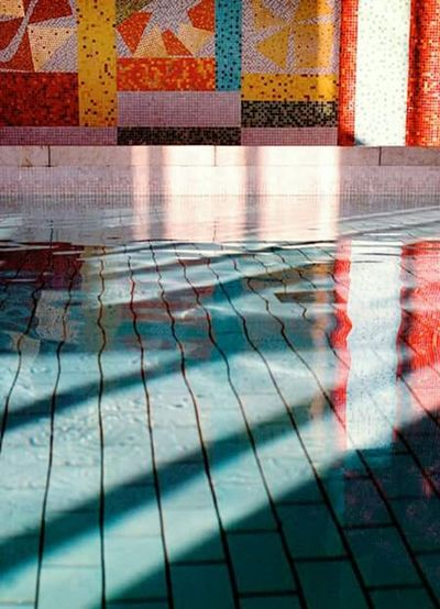I wish we were easy and light, a perfect blend of colours, melting and floating together in calm water Taking Photos Light And Shadows Creative Light And Shadow Pool Darkness And Light Colours Swimming Pool Architecture_collection Architectural Detail Architecture Luleå  Sweden Colors Bath