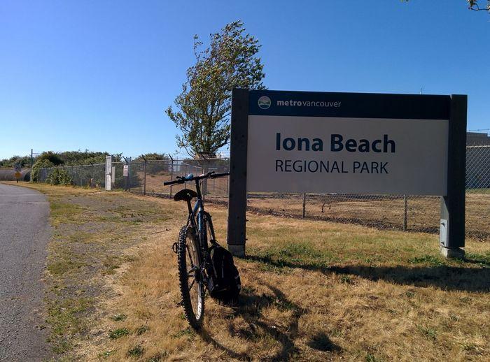 The Essence Of Summer Biking Iona Beach