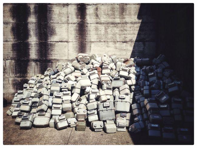 Large Group Of Objects Abundance Abandoned No People Daylight Stack Trash Is Treasured