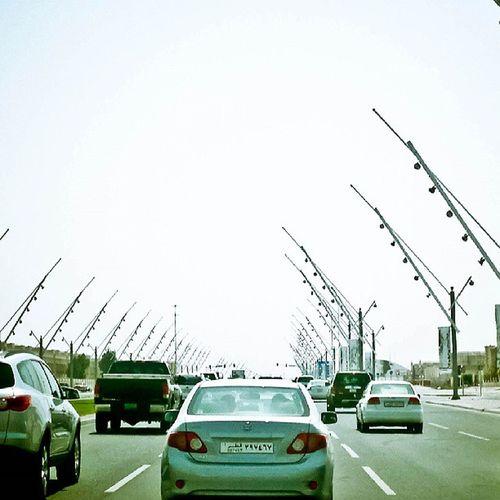 Doha Qatar Road Vehicles car street photography jidhujose