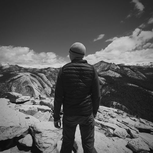 Top of the World on Half Dome. Yosemite Hike Outdoors First Eyeem Photo