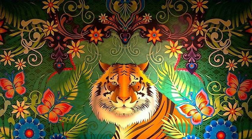 StoreDecoration On Nature Inspired Paintings Of India