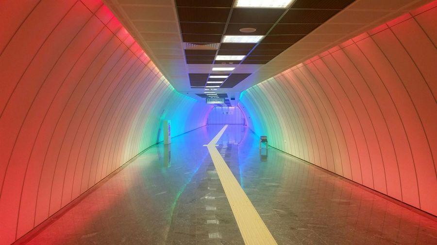 Boğaziçi üniversitesi Istasyon Rengi Tünel Gibi Giriş Güzel Istanbul Türkiye