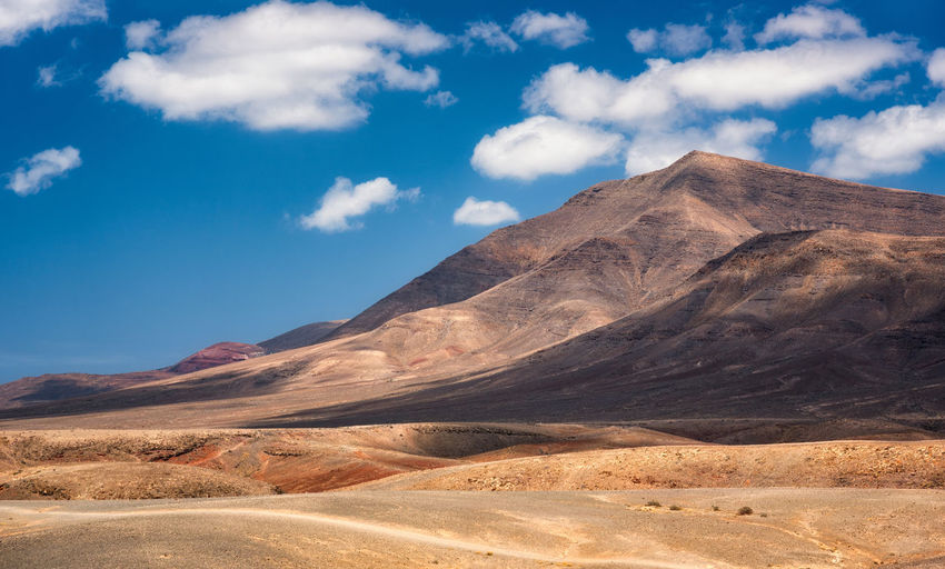 Lanzarote Dream Canary Islands Costa De Papagayo Desert Lanzarote Beauty In Nature Climate Cloud - Sky Day Desert Environment Geology Landscape Mountain No People Non-urban Scene Outdoors Remote Sky