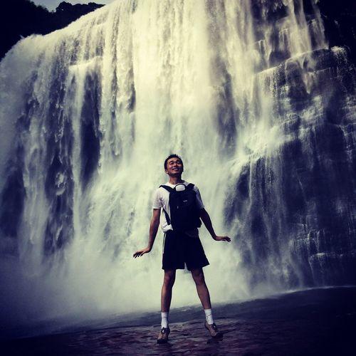 赤水十丈洞瀑布 赤水 China 十丈洞 瀑布