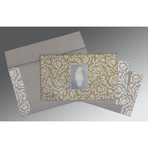 Black Screen Printed Wedding Invitations : IN-1371 | 123WeddingCards Wedding Wedding Cards Design Gift Invitation Pattern Wedding Invitations Wedding Party