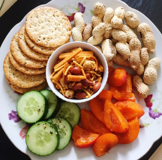 Healthy Food Meal Snack Time Lunch Today
