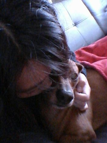 With my dog ♥ Relaxing Escaping Hello World Taking Photos Hi! That's Me Dog Pets Petlover