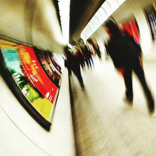 Love this - movement, urgency, vibrancy of the London underground Londonunderground Capturing Movement People Watching People In Transit Vibrantlife In A Hurry  Lifeinthefastlane Pmg_lon