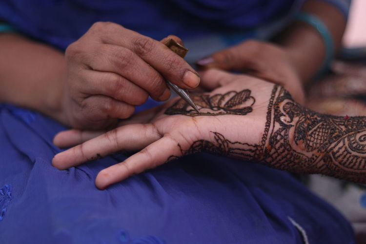 photo by: Nikhil Kancharla Camera model: Canon 80D Reddy Arts Reddy Art Human Hand Human Body Part Hand Adult Two People Henna Tattoo Tattoo Close-up Art And Craft Skill  Occupation Women Indoors  Working Midsection Creativity Expertise Holding People Body Part Preparation  Tattooing Body Adornment Human Limb Finger Mahendi Designs Wedding Dress Wedding Photography Wedding Ceremony Wedding Day Bridegroom Bride Dress