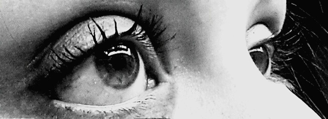 Sad eyes Taking Photos Eyes Blackandwhite That's Me
