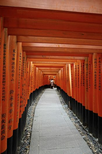 Corridor of temple