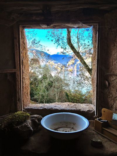 Finestra con vista Window No People Indoors  Day Water Lake Architecture Sky Lake Garda Blue Nature EyeEmNewHere