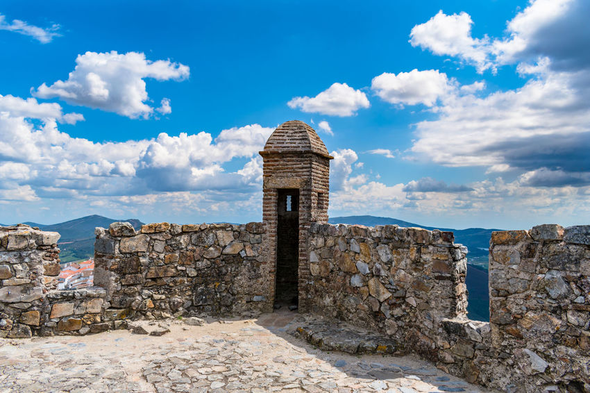 castelo de Marvão Ancient Ancient Civilization Archaeology Architectural Column Architecture Building Building Exterior Built Structure Cloud - Sky Day Deterioration History Nature No People Old Old Ruin Outdoors Ruined Sky Stone Wall The Past Tourism Travel Travel Destinations Wall