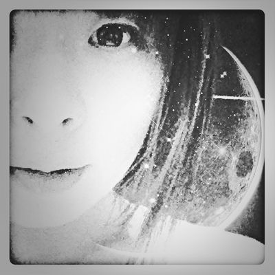 Wowfx Blackandwhite Portrait Blackandwhite That's Me 中二病的加工女子編