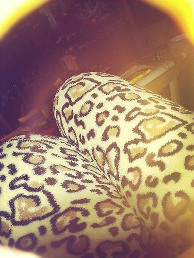 Fuzzy Cheetah Pjs <3