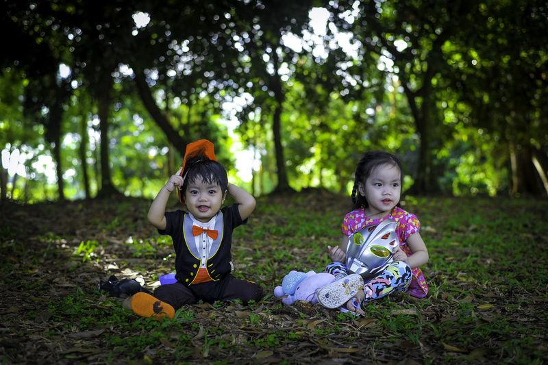 Family Having Fun Kids, Children, Kids, Children, Playing, Stones, Dirt, Sand, Natural, Building, Play Nature Kids, My Kids Kidsphotography Nature Photography People
