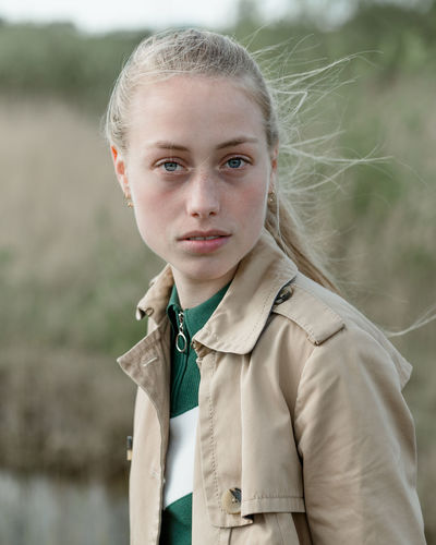 Emilie Randløv of Scoop Models, Copenhagen 2018 Portrait Photography Portrait Of A Woman Portrait Photography Face Faces Of EyeEm Blue Eyes Portrait Beautiful Woman Beautiful People Portrait Blond Hair Looking At Camera Headshot Teenager Close-up Natural Beauty This Is My Skin