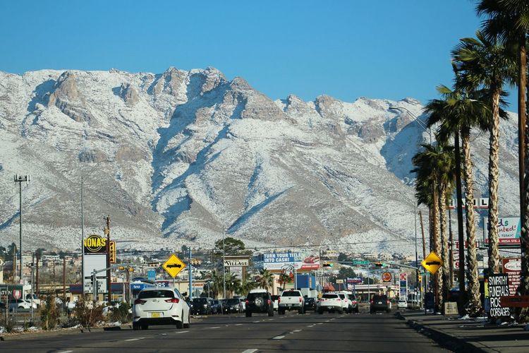 El Paso Tx Franklin Mountains El Paso