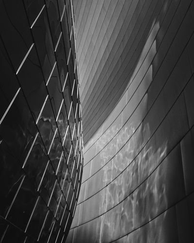 Lines Pattern No People Architecture Built Structure Day Nature The Architect - 2018 EyeEm Awards Wall - Building Feature Metal City Silver Colored Reflection
