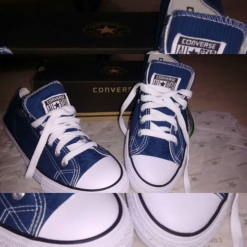 The blue one All_star Converse Navyblueandwhite 😘😘😙😙