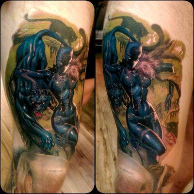 Blackpanther Marvel Tattoo Check This Out Tattooartist  Fullcustomtattoo Blackpanther Torstenmatthes Mrttattoo Daredevil #marvel #marvelcomics #netflix #stanlee #comics #marvelcomic #netflixnight #comikaze #cosplay #netflixtime #daredevil #marvelcomicsgang #stanleescomikaze #marveluniverse #comic #art #marvelheroes #superhero #marvelnation #love #netflixing #wilso